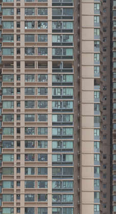 asia asian hong kong hongkong china facade residential flat flats appartments appartment towerblock